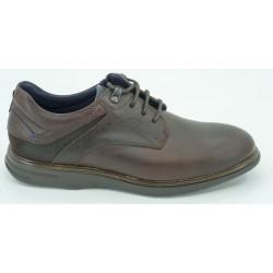 Zapatos de marca fluchos en color cuero